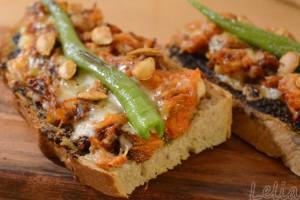 Kürbis-Toast