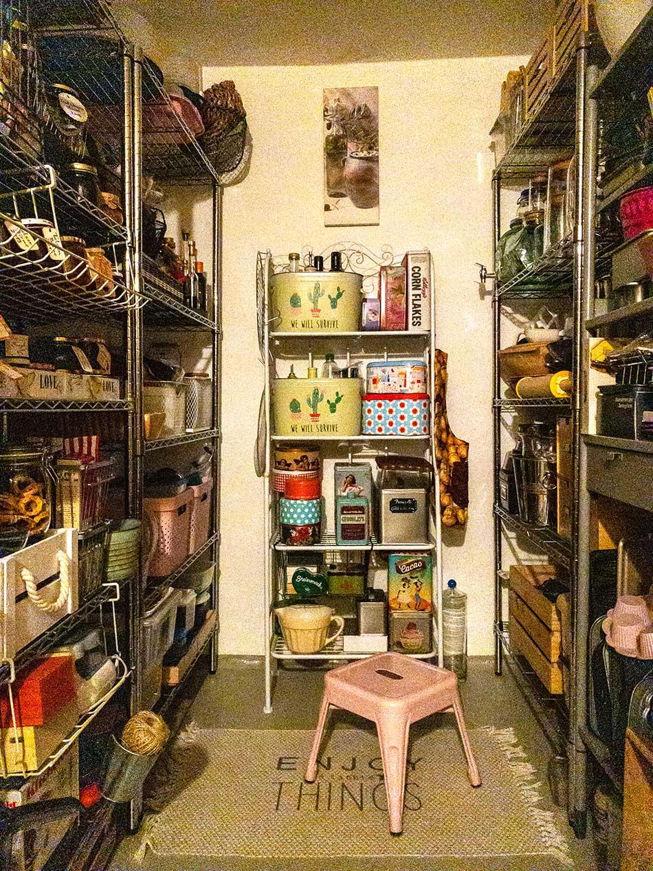 Vorratskeller 1   Tatort Küche
