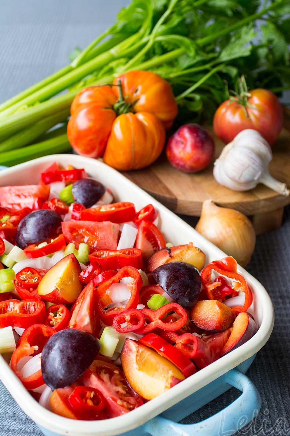 Indische Tomatensauce 1   Tatort Küche