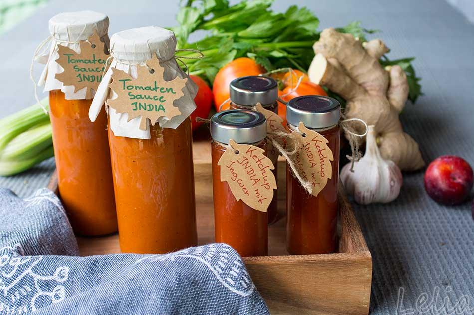 Indische Tomatensauce 6   Tatort Küche